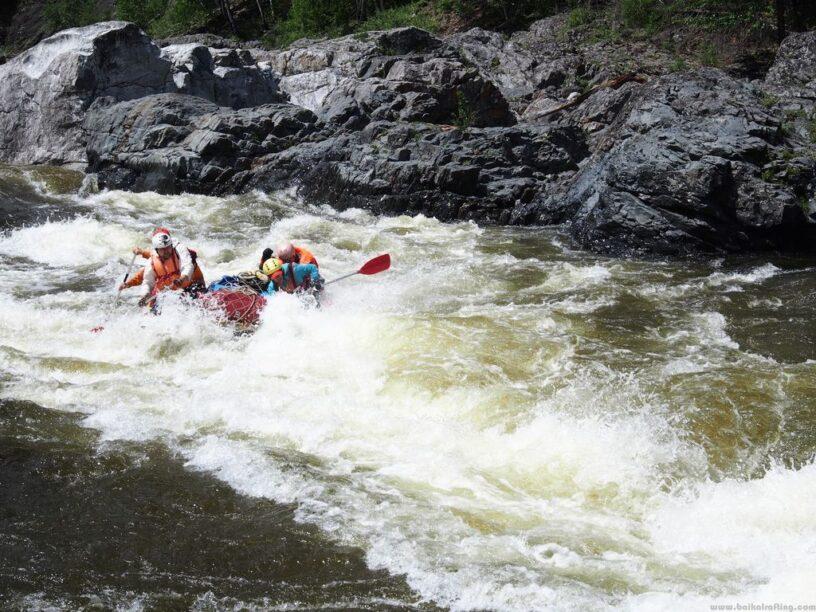 Река Урик порог Чертики