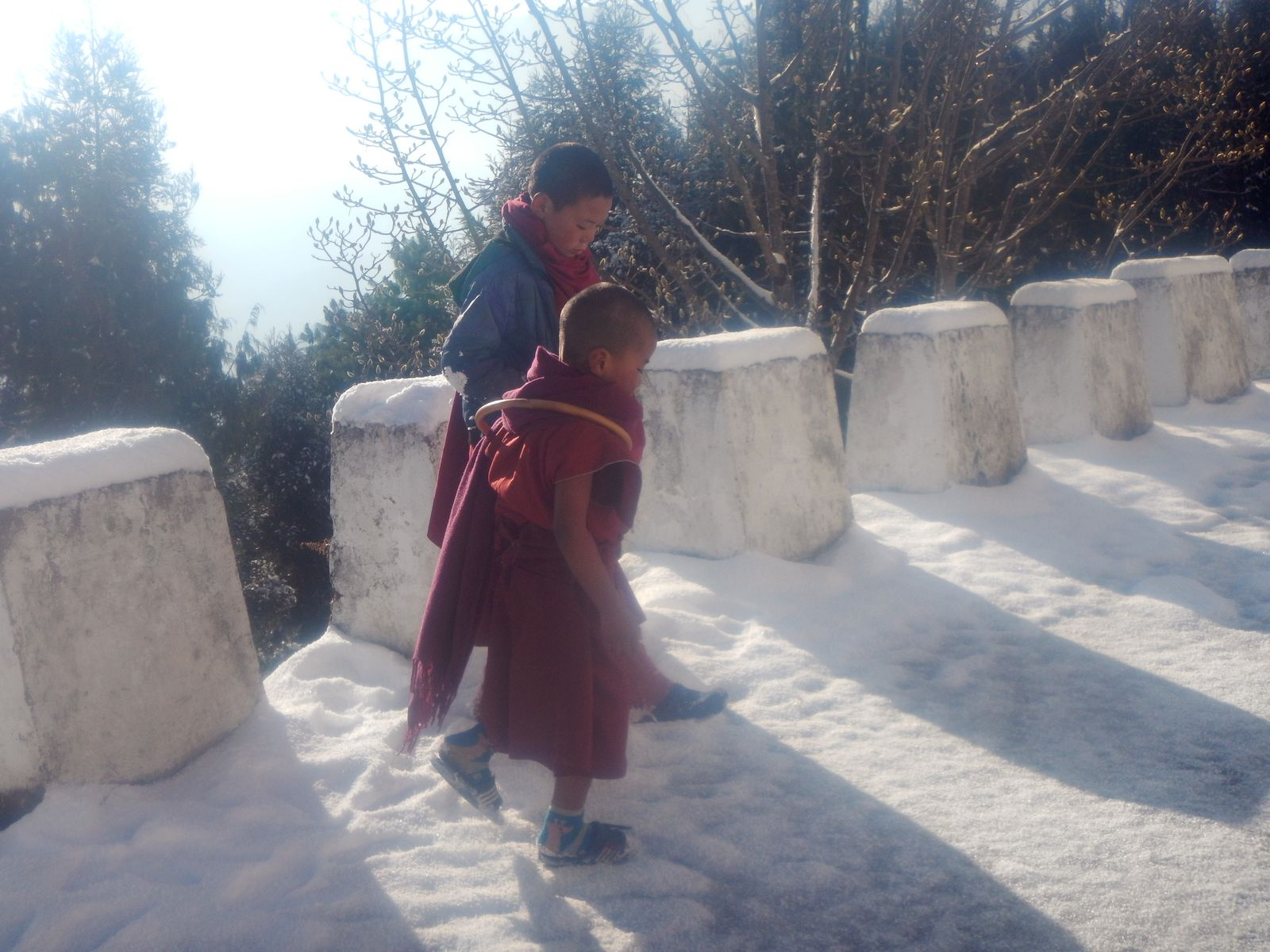 Буддисты в таванге