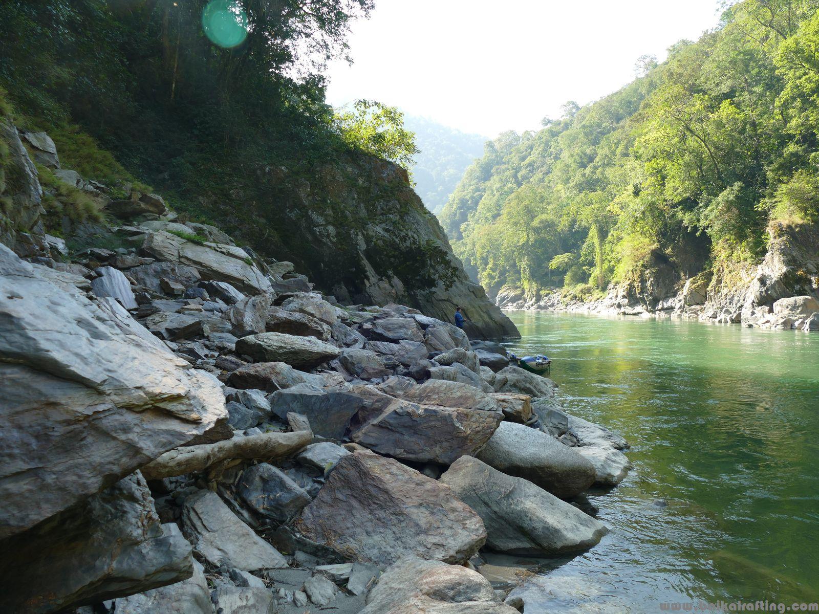 Рыбалка в Гималаях. Река Каменг.