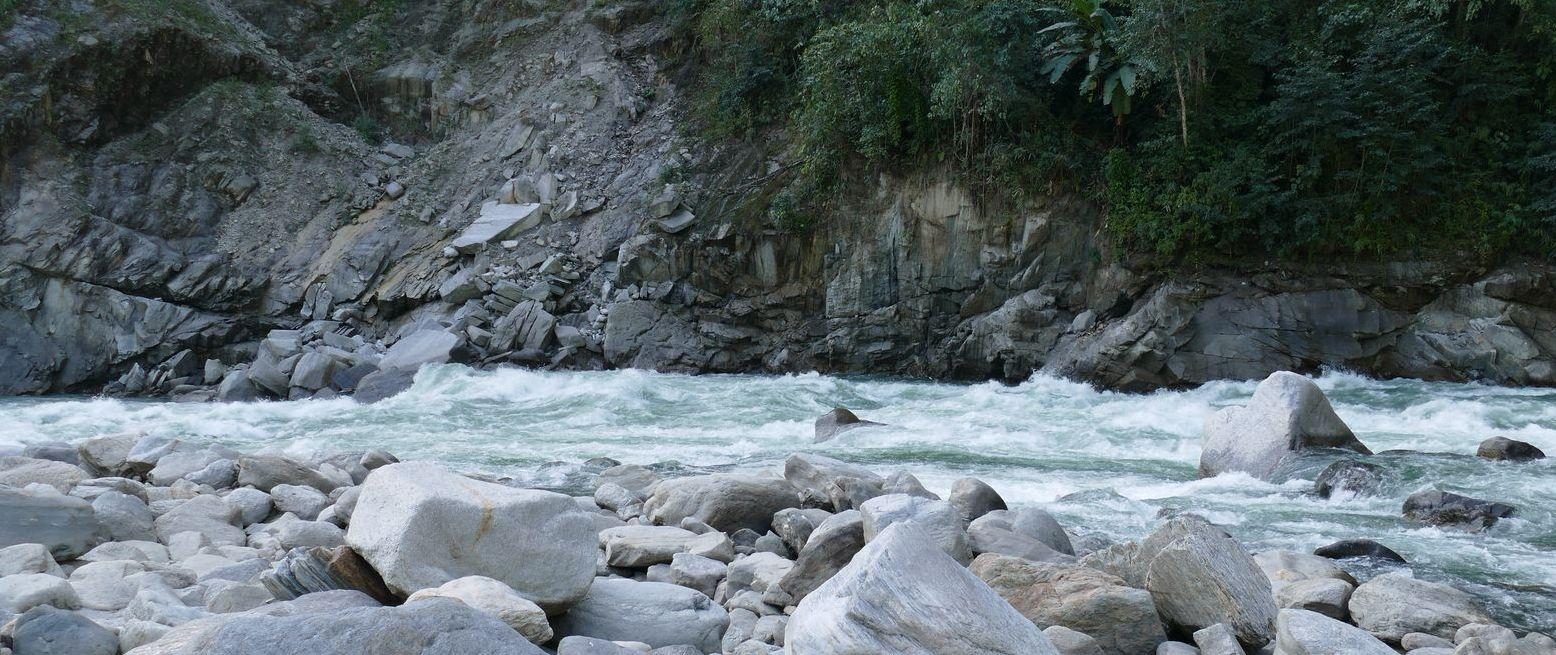 Порог реки Каменг