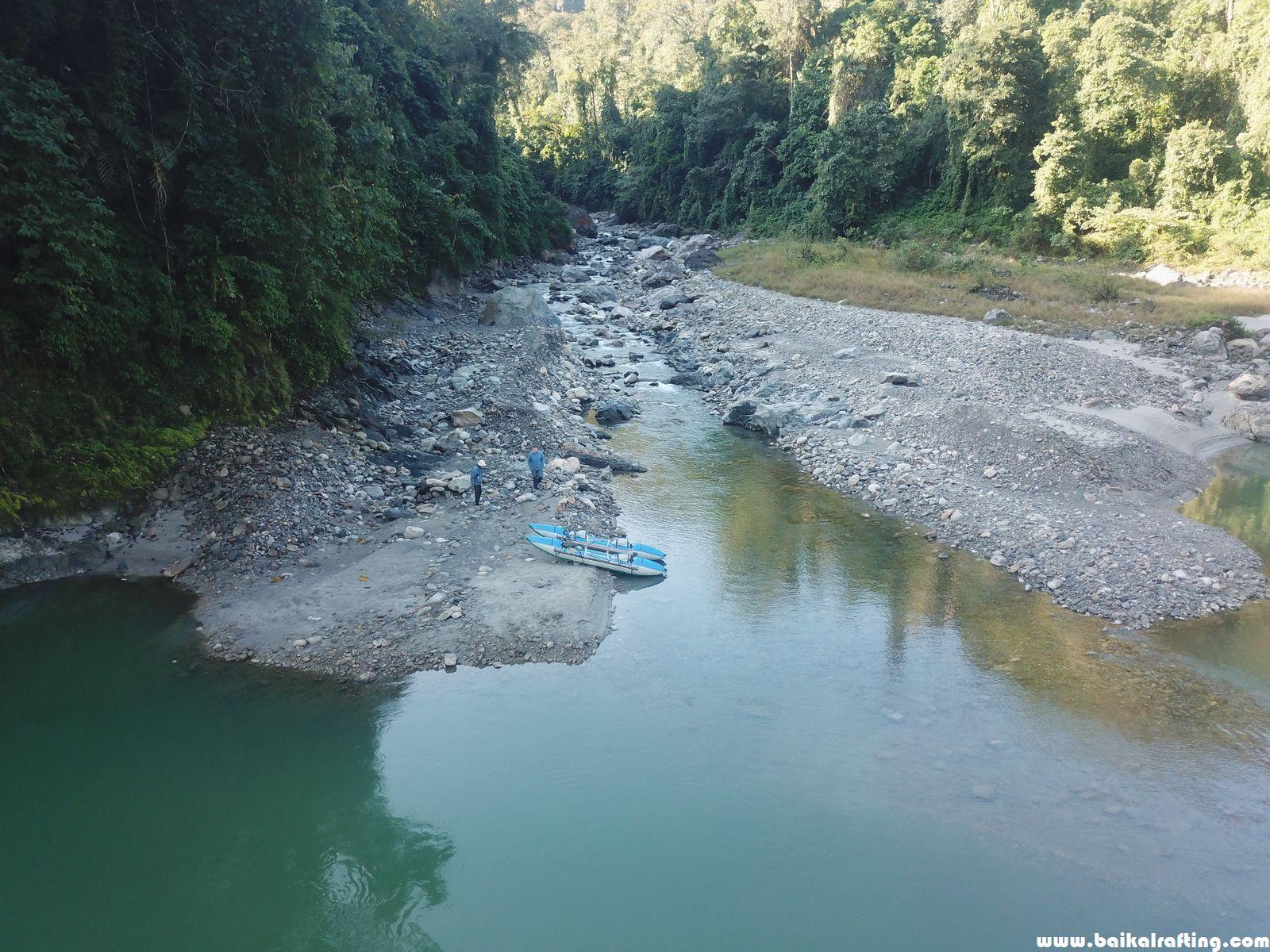 Рыбалка Новый Год Гималаи.