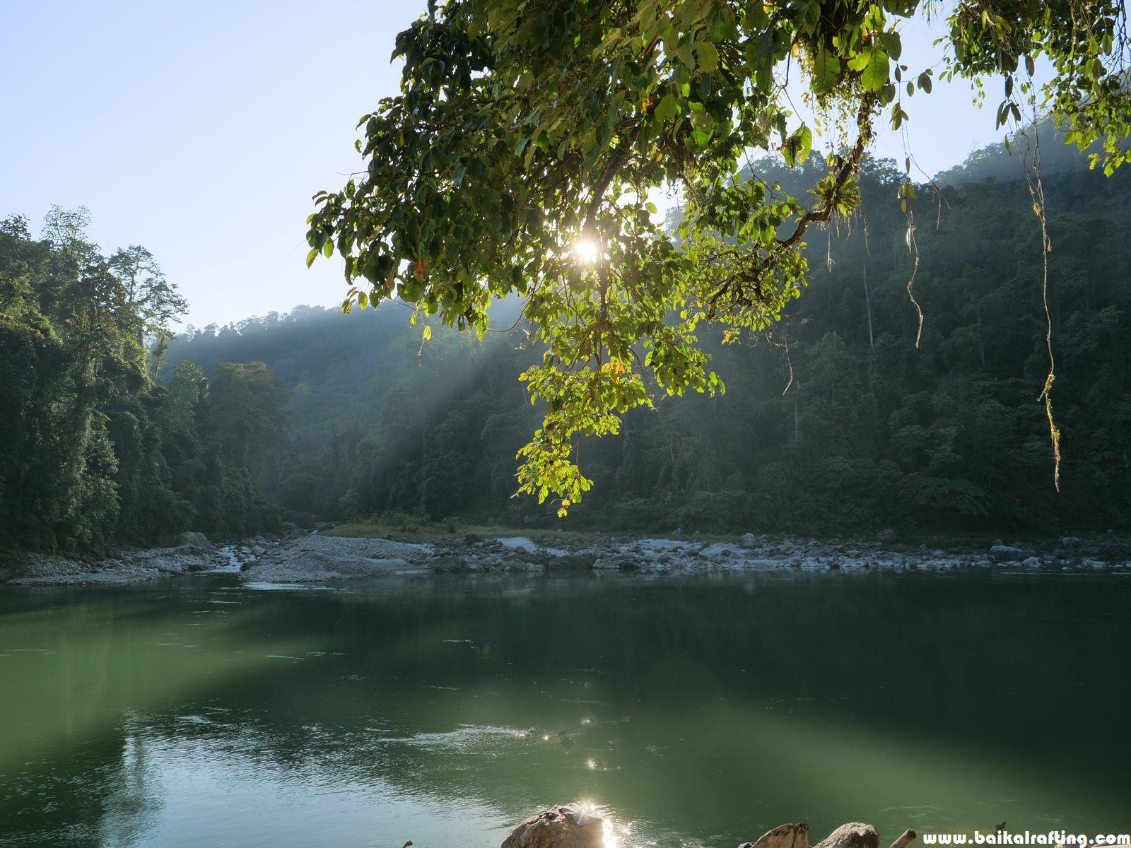 Сплав и рыбалка на реке Каменг - Новогодний тур 2020, рассказ