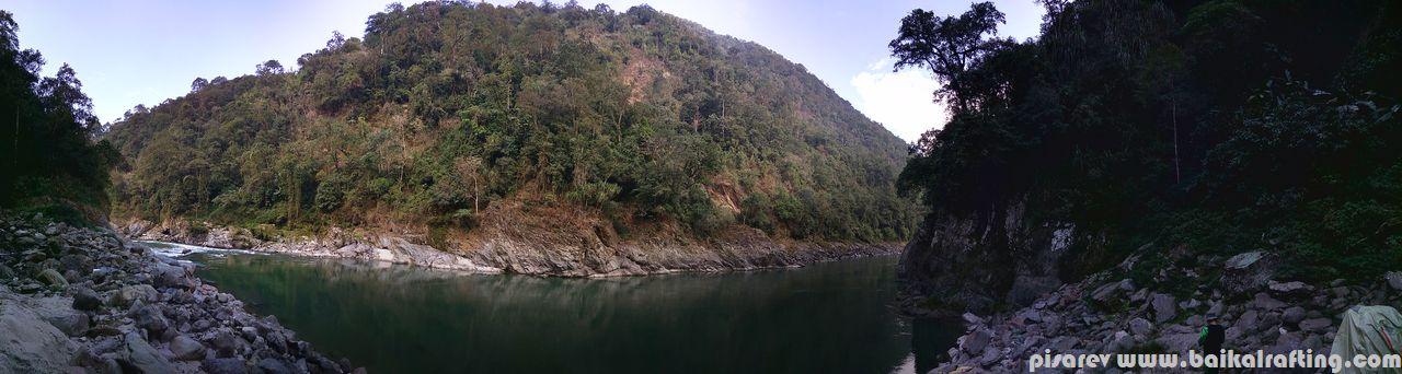 плав Новый Год. Река Каменг.