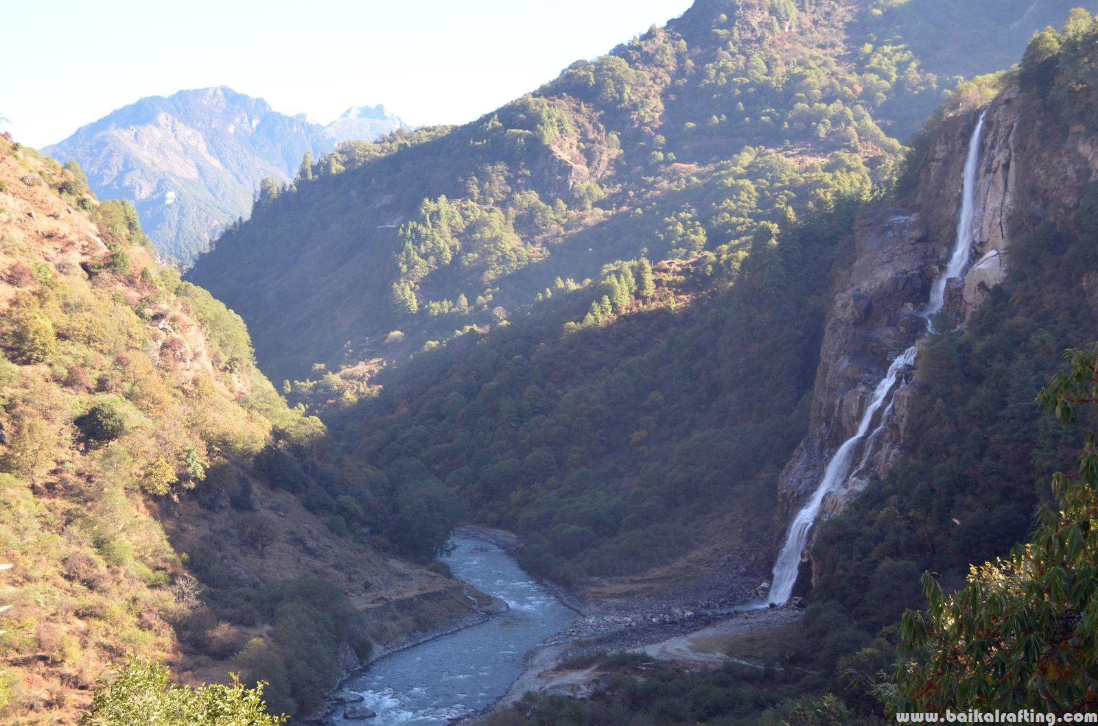 Водопад Джанг Таванг Индия