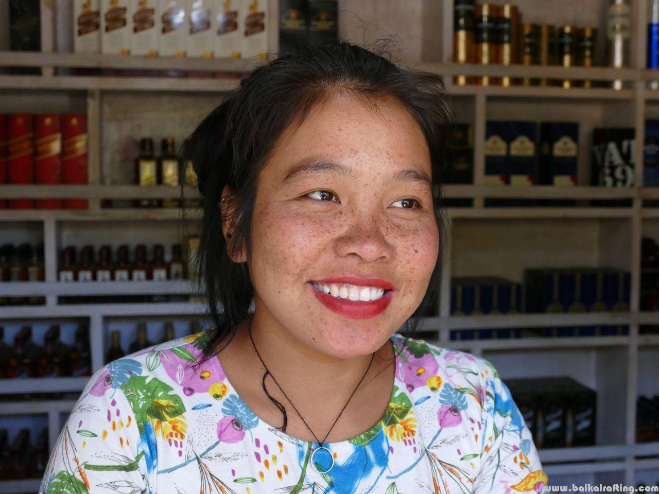 Девушка в Диранге