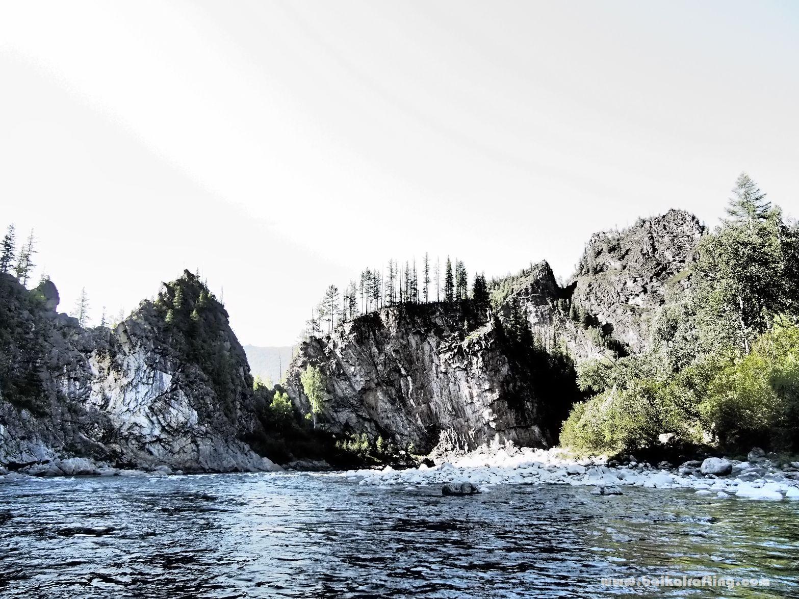 Зун Мурин - ущелье реки Ингасун