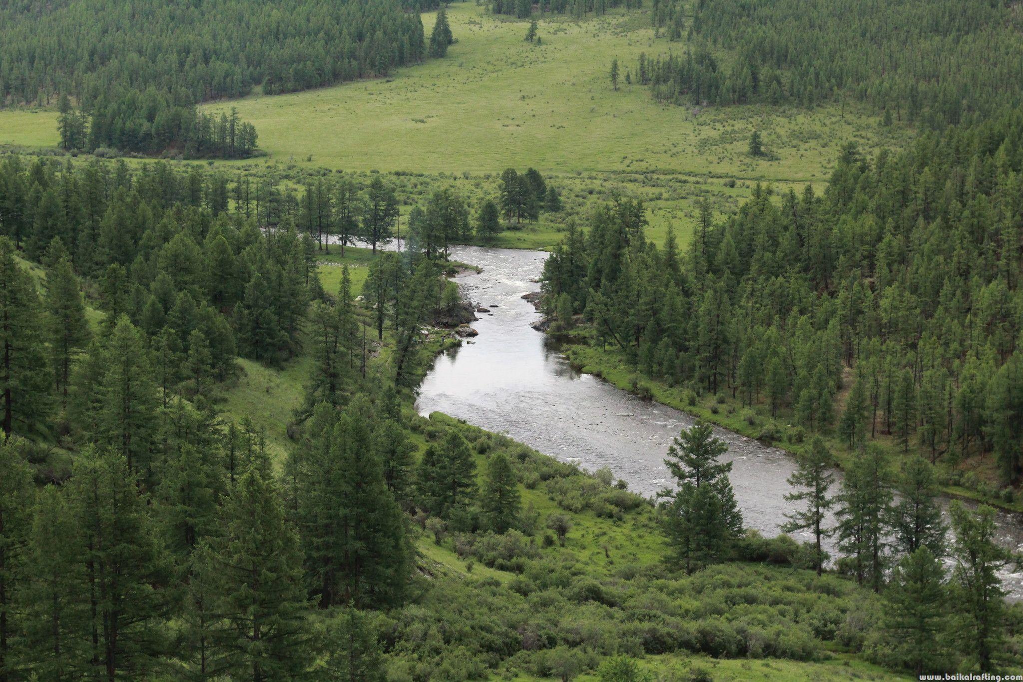 Река Диби ниже реки Солу