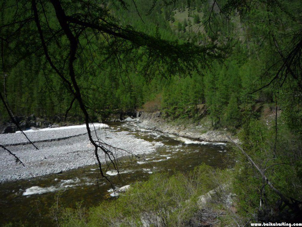Сплав по реке Диби - описание реки