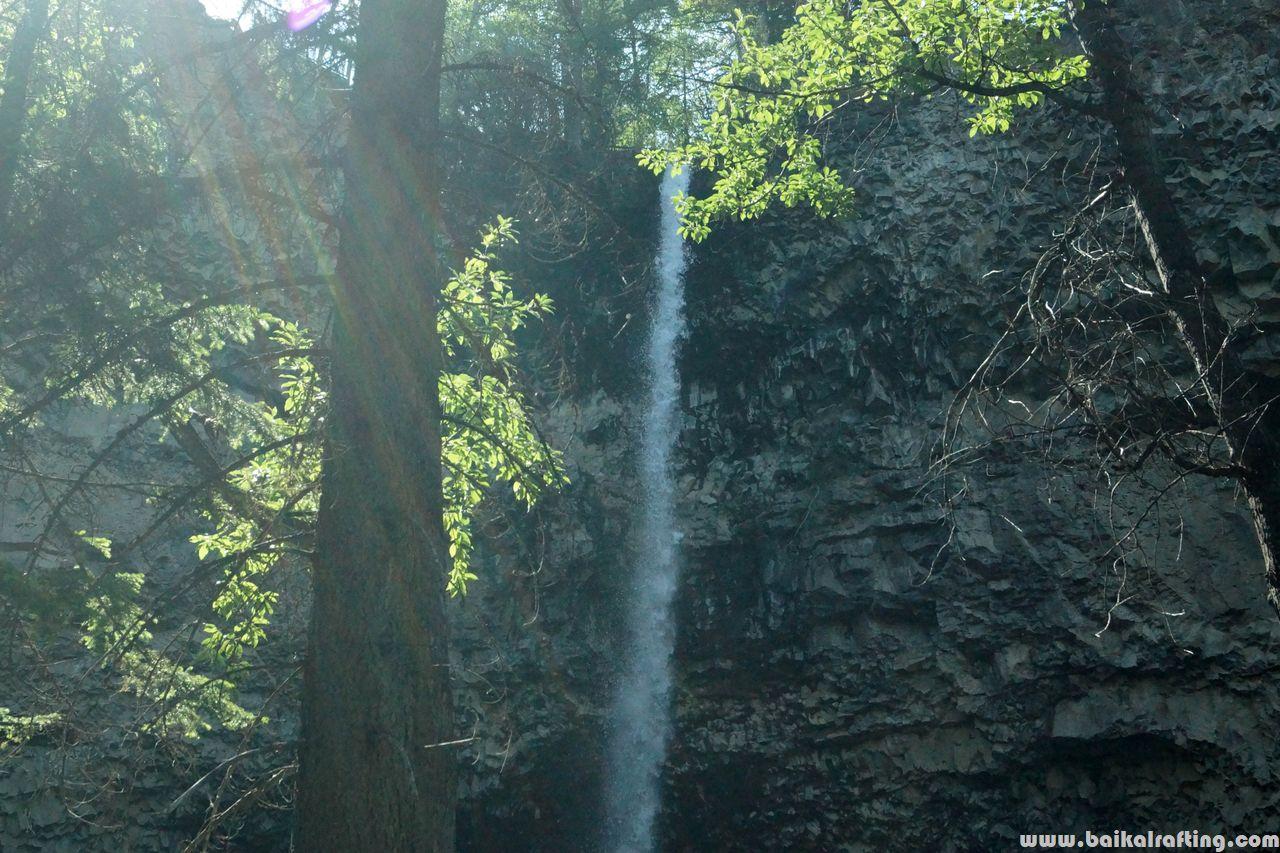 Ока Саянская водопад.