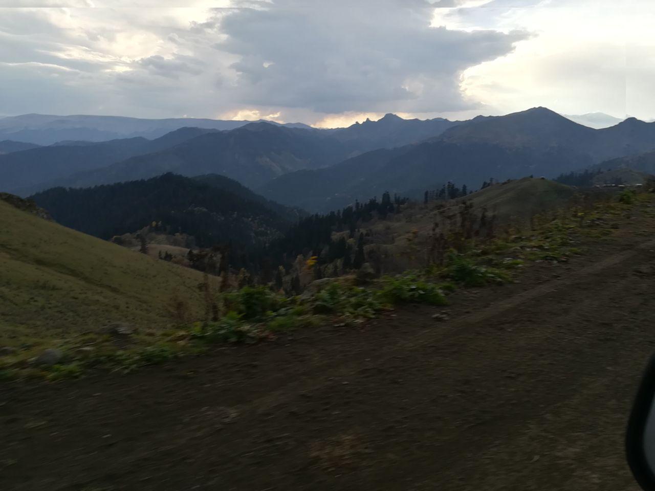 Гора Мамлис Мта. перевал Зекари.