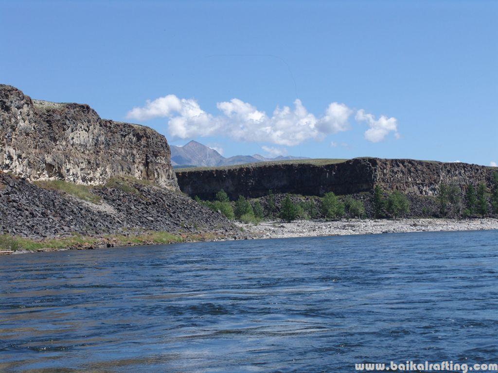 Река Сайлаг.
