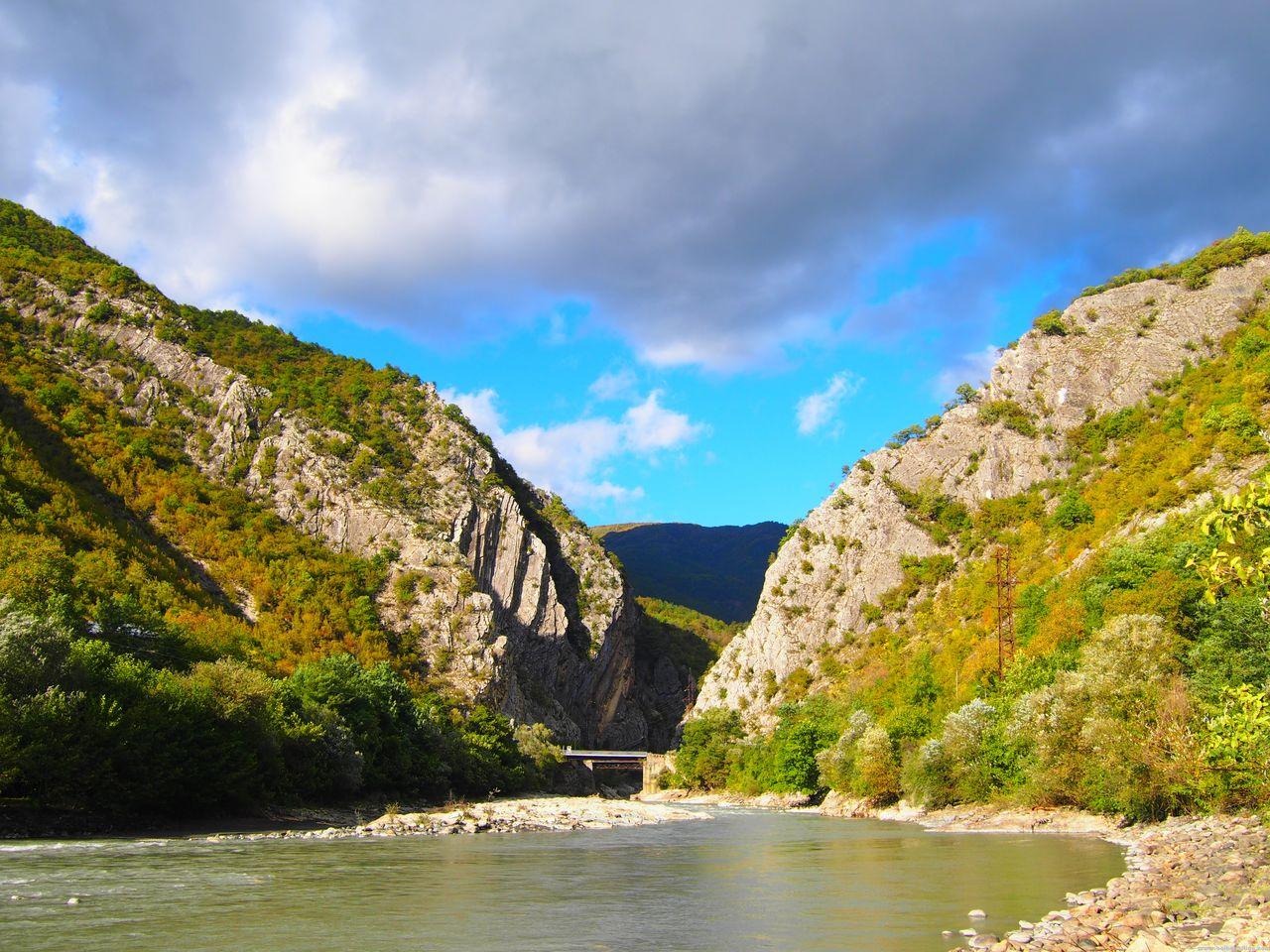 Сплав по реке Риони